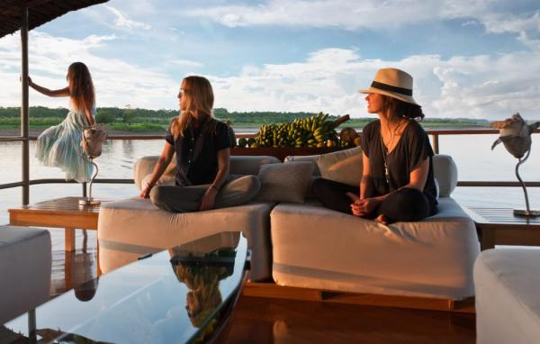 Take in the Amazon from the comfort of the Delfin