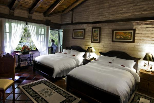 Double accomodations at the Samari Spa Resort