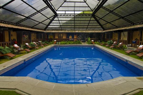 Unwind in Samari Spa Resort's indoor pool