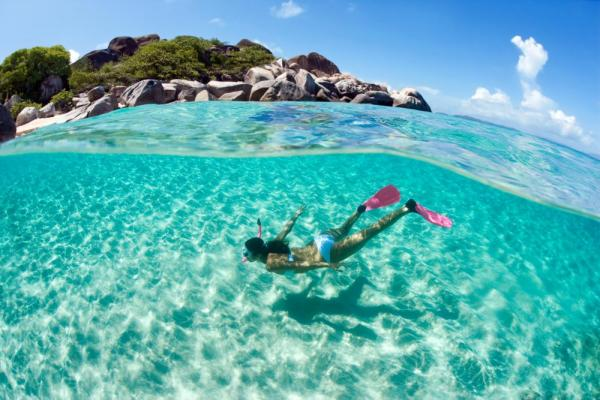 Snorkel the pristine waters of the Caribbean on your Virgin Islands cruise