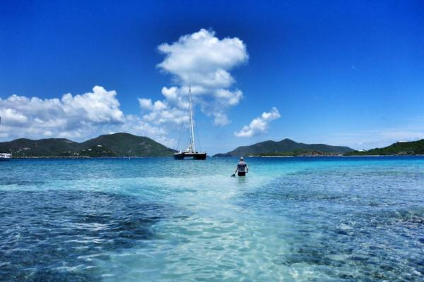 Deep blue waters await you on your Caribbean cruise