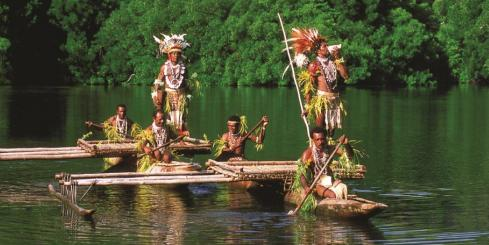 Experience the culture as you sail through the  Pacific on your cruise