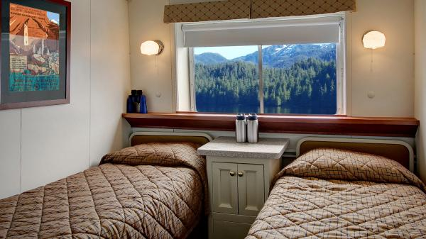 Wilderness Adventurer's comfortable cabins.