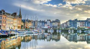 Wander the old port of Normandy's Honfleur.