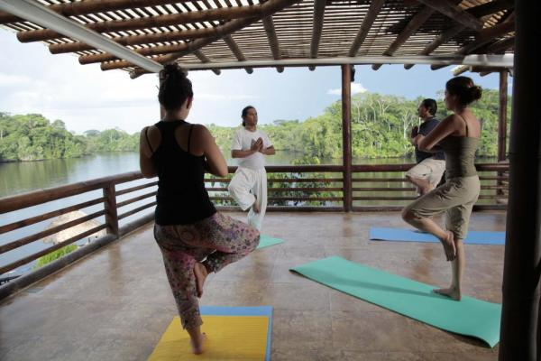 Yoga on the Amazon