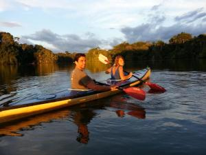 Enjoy a sunset kayaking trip