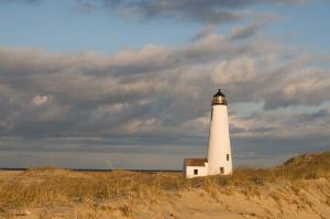 Great Point Lighthouse in Nantucket.