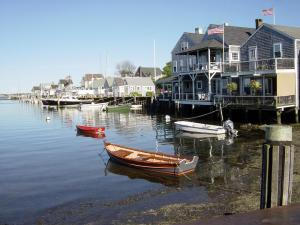 A coastal town in Cape Cod.