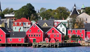 The unique coastal town of Lunenburg.