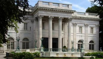 Take a tour of the Marble House in Newport.