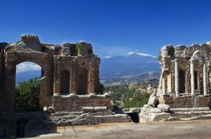 Explore the ruins of Taormina and Etna.
