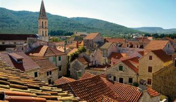 See the sights of Hvar from your bicycle as you bike and boat around Croatia