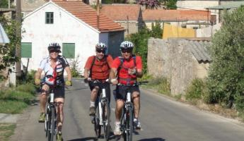 Biking through Croatia