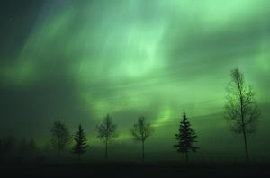 The beauty of the Aurora Borealis.