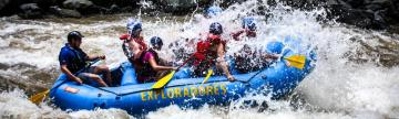 Costa Rica rafting at its best!