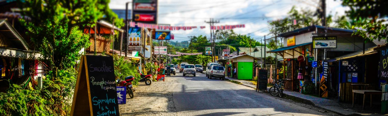 Puerto Viejo, the lively Caribbean town
