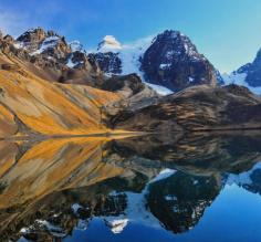 Gorgeous reflections on the Bolivia trek