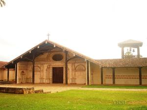 One of several restored Jesuit Missions in eastern Bolivia