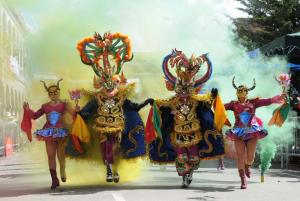Dancing, music and wonder at the Oruro Festival