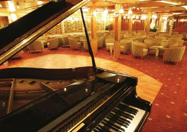 Enjoy a piano serenade in the lounge.