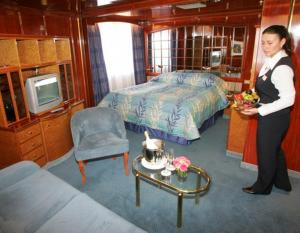 Sea Explorer's Deluxe Suite.