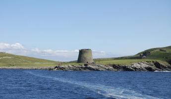 Mousa Broch on the Shetland Islands.