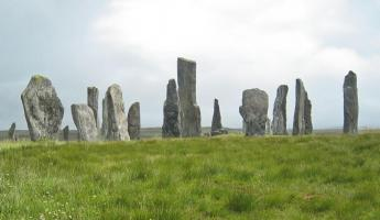 The Ring of Brodgar on the Orkney Islands.