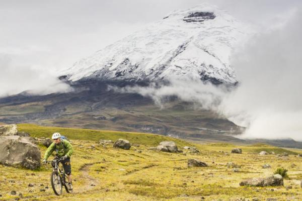 Incredible mountain biking trails in the Cotopaxi region of Ecuador