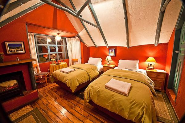A double room at Hacienda El Porvenir
