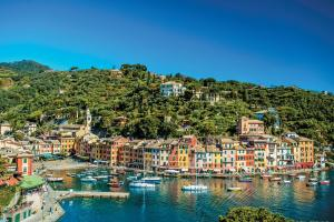 The fishing village of Portofino