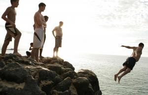 Jump from the cliffs on Ilha Grande on your Brazil tour