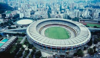 Estadio do Maracana, the soccer stadium in Rio de Janeiro, will host the World Cup in 2014!