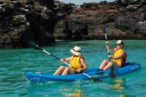 Enjoy a relaxing kayak trip around the islands.