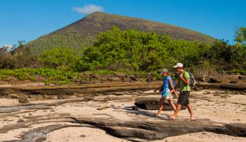 Take a walk through the unique landscape of the Galapagos.