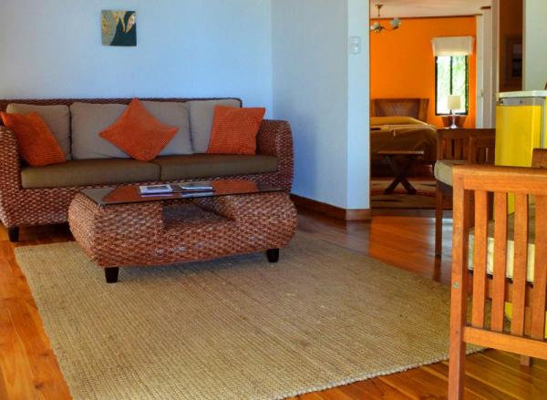 Relax in one of La Casa de Marita's suite sitting rooms