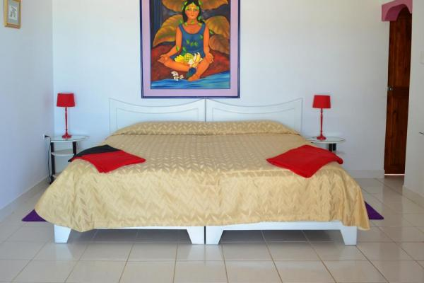 Your bed faces the ocean at La Casa de Marita