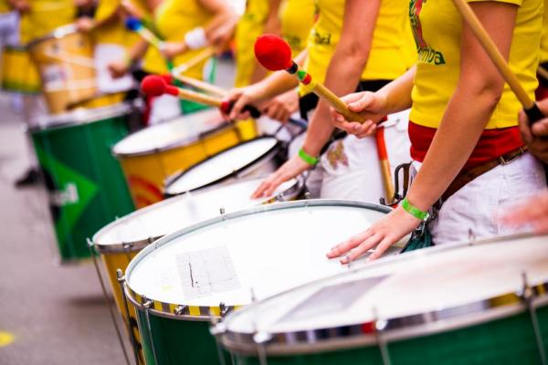 Listen to the cultural steel-drums of Brazil