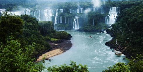 Marvel at the thundering power of Iguazu Falls