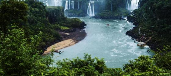 Revel in the thundering power of Iguazu Falls