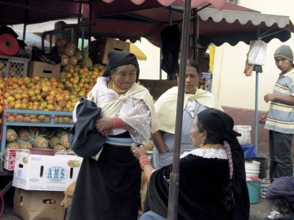 Otavalo local market