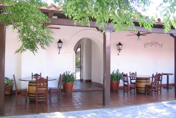 Relax on the patio at the Patios de Cafayate.