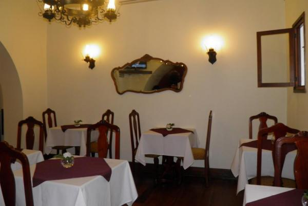 Enjoy a delicious meal in the hotel restaurant.