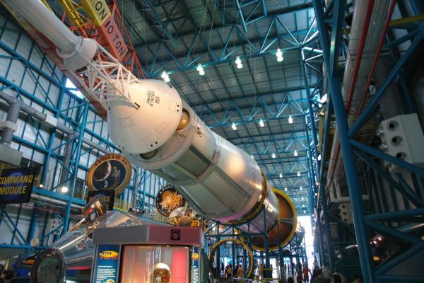Visit the Kennedy Space center as you tour Florida on a small ship cruise