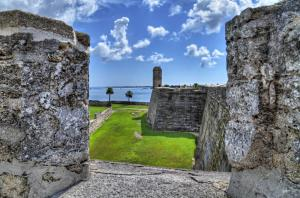 Explore the Castillo de San Marcos on your voyage around Florida