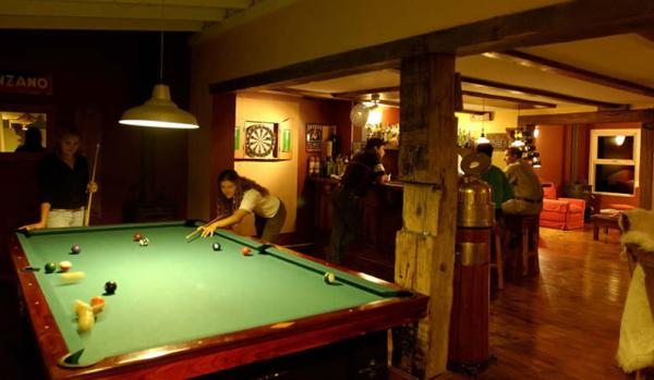 Enjoy a quick game of pool in the bar.