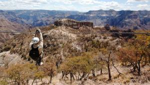 Enjoy some ziplining while on you Mexico tour.