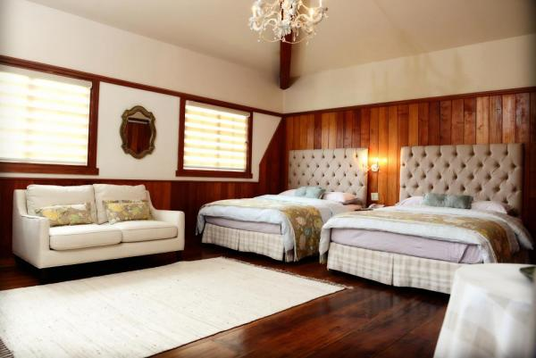 Enjoy the spacious and comfortable rooms.