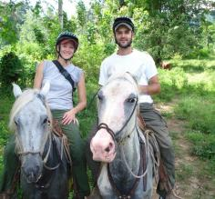 Horseback ride at Selva Bananito