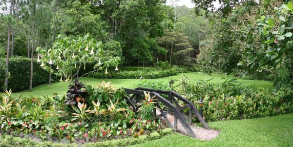 Take a walk through the beautiful gardens.