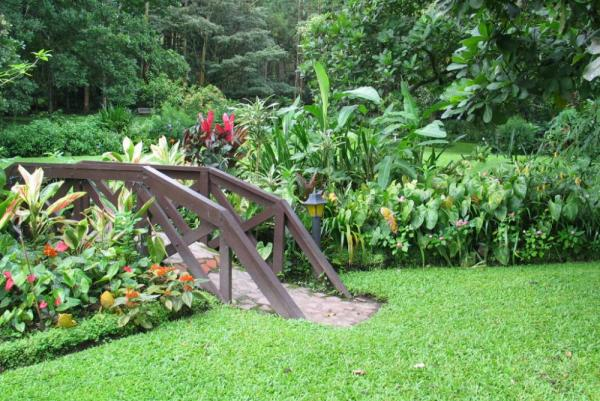 Take a walk in the beautiful garden surrounding the hotel.